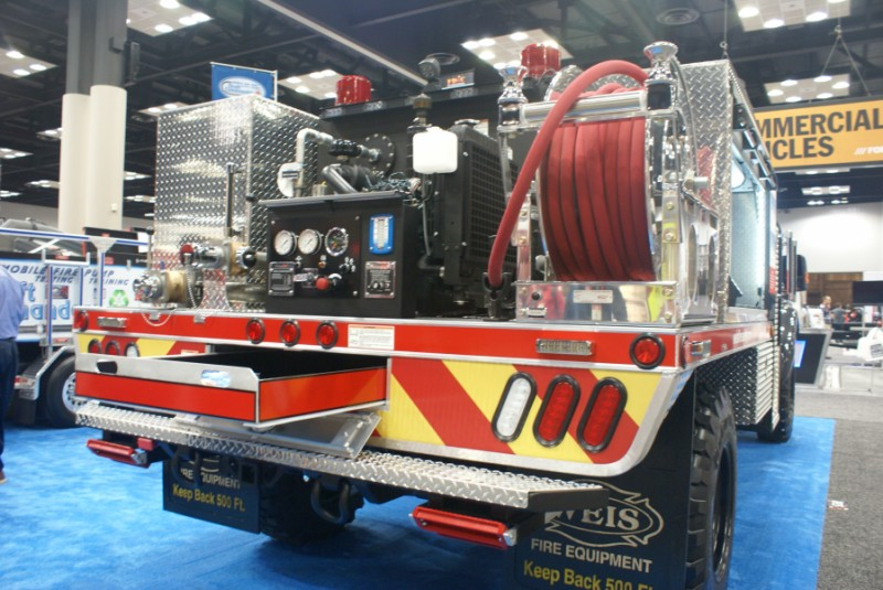 Weis Fire WROPS apparatus at FDIC