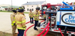 pump testing in Kentucky with the Draft Commander 3000