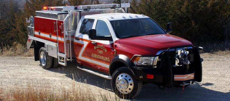 Gibsonburg Vol Fire Dept, Weis Quick Attack