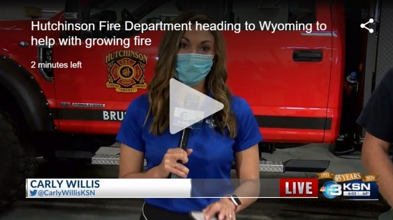 Carly Willis - KSN - Hutchinson FD
