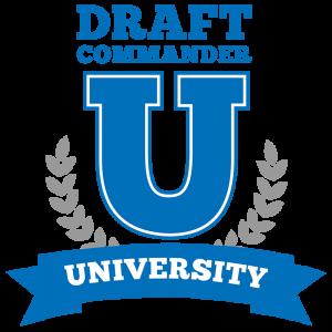 DCU logo (Draft Commander University)