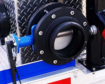 "6"" Vacuum Butterfly Suction Valve"