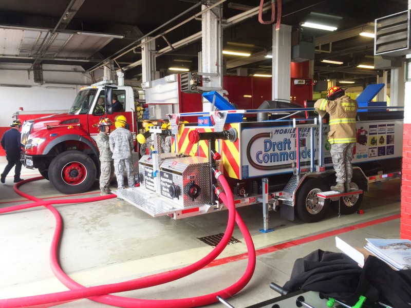 Draft Commander 3000, pump testing in Germany