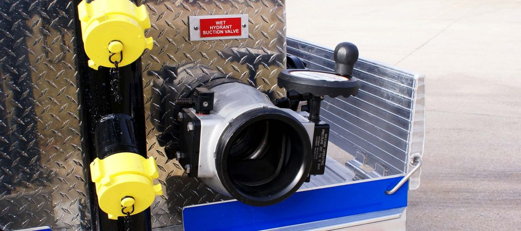 """6"""" Wet Hydrant with Suction Valve"""