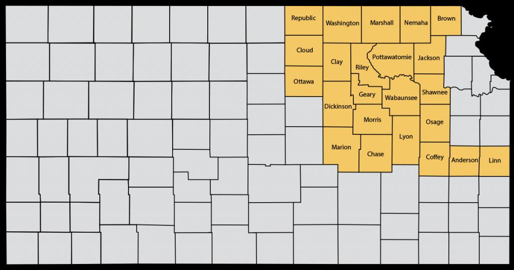 Central-Northeast Kansas