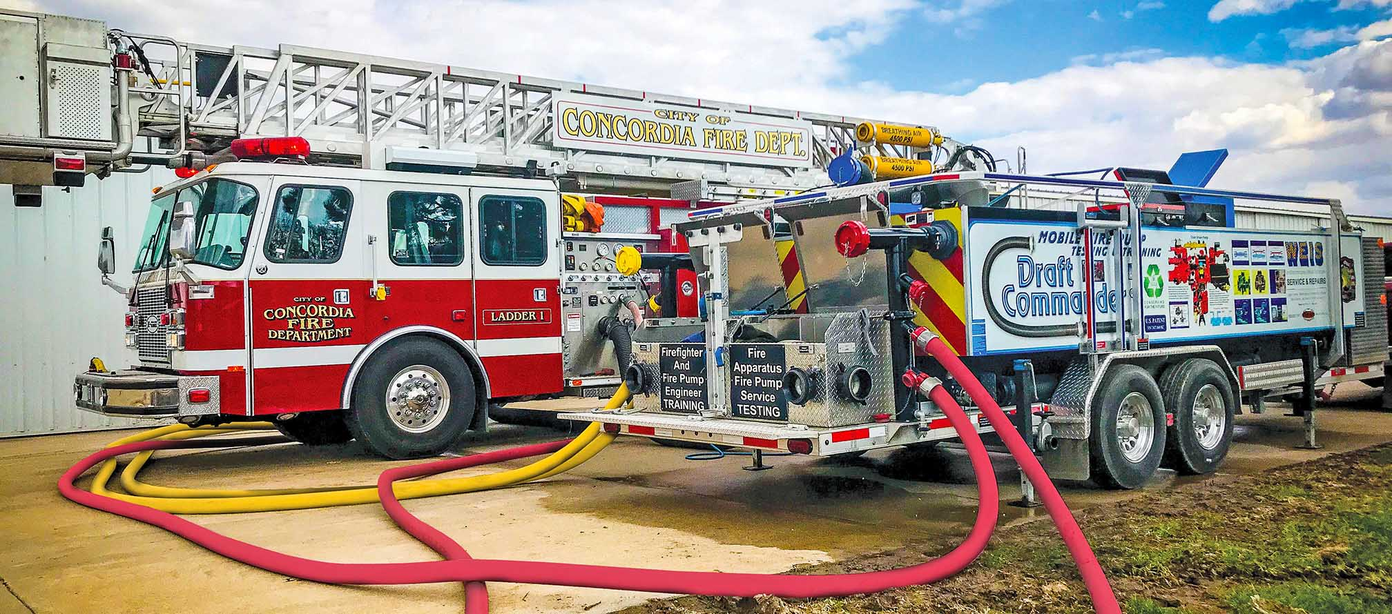 Pump Testing with the Draft Commander 3000