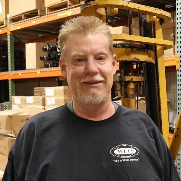 Dave Koepplin - Warehouse/Inventory Control