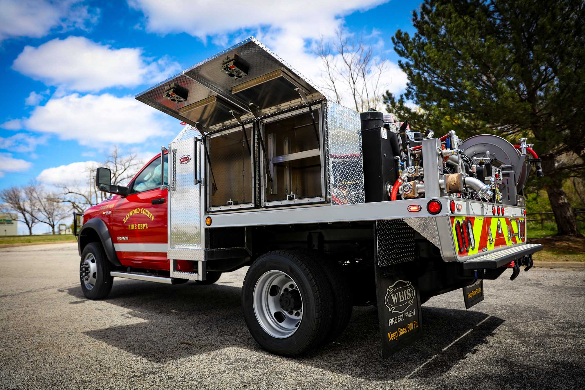 Haywood County Fire Department - Weis Quick Attack 300RM
