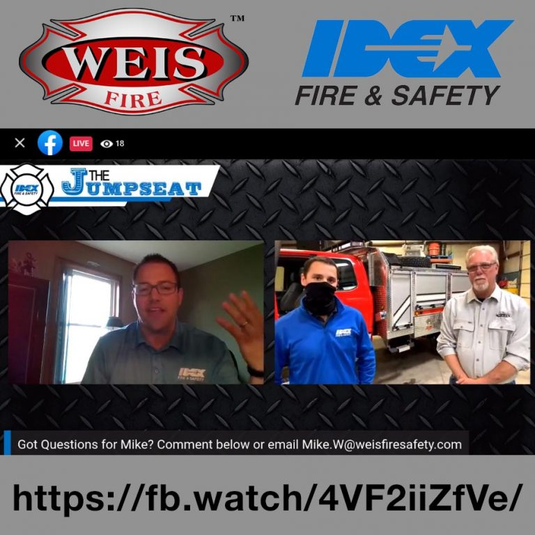 The Jumpseat Live - Weis Fire & Safety