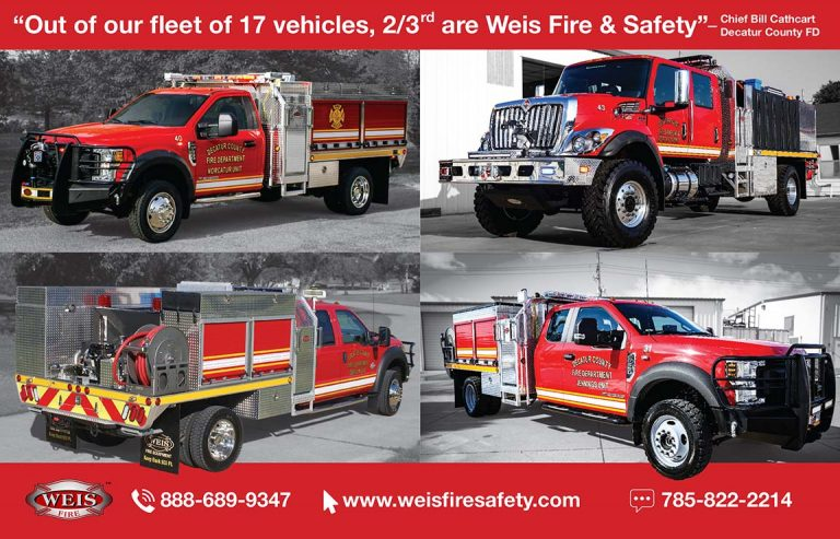 Decatur County Rural Fire Department, Weis Quick Attack Testimonial