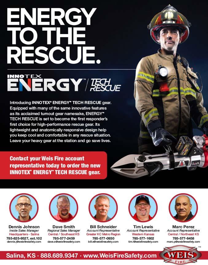Innotex Energy Rescue Tech Gear